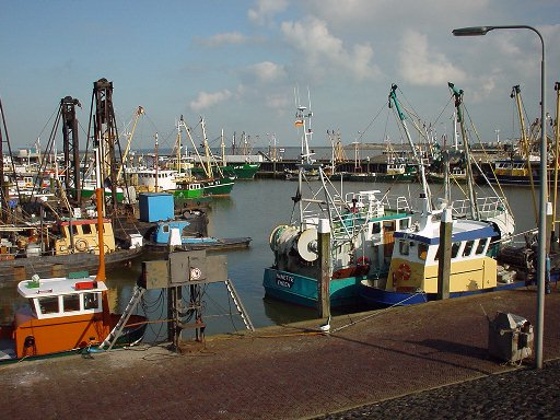 De haven van Den Oever